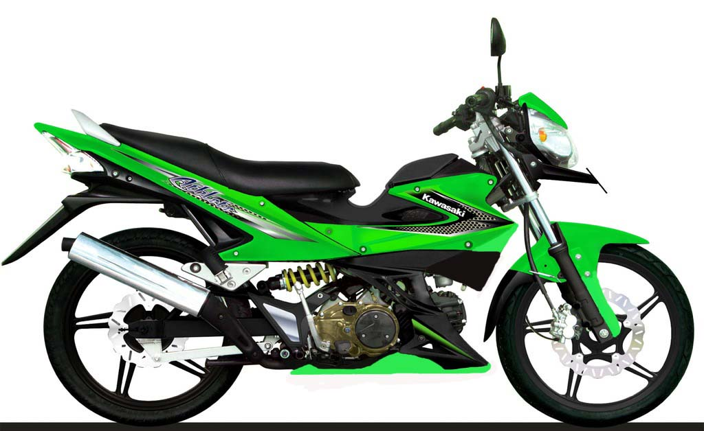 Image of Kawasaki Athlete Modifikasi