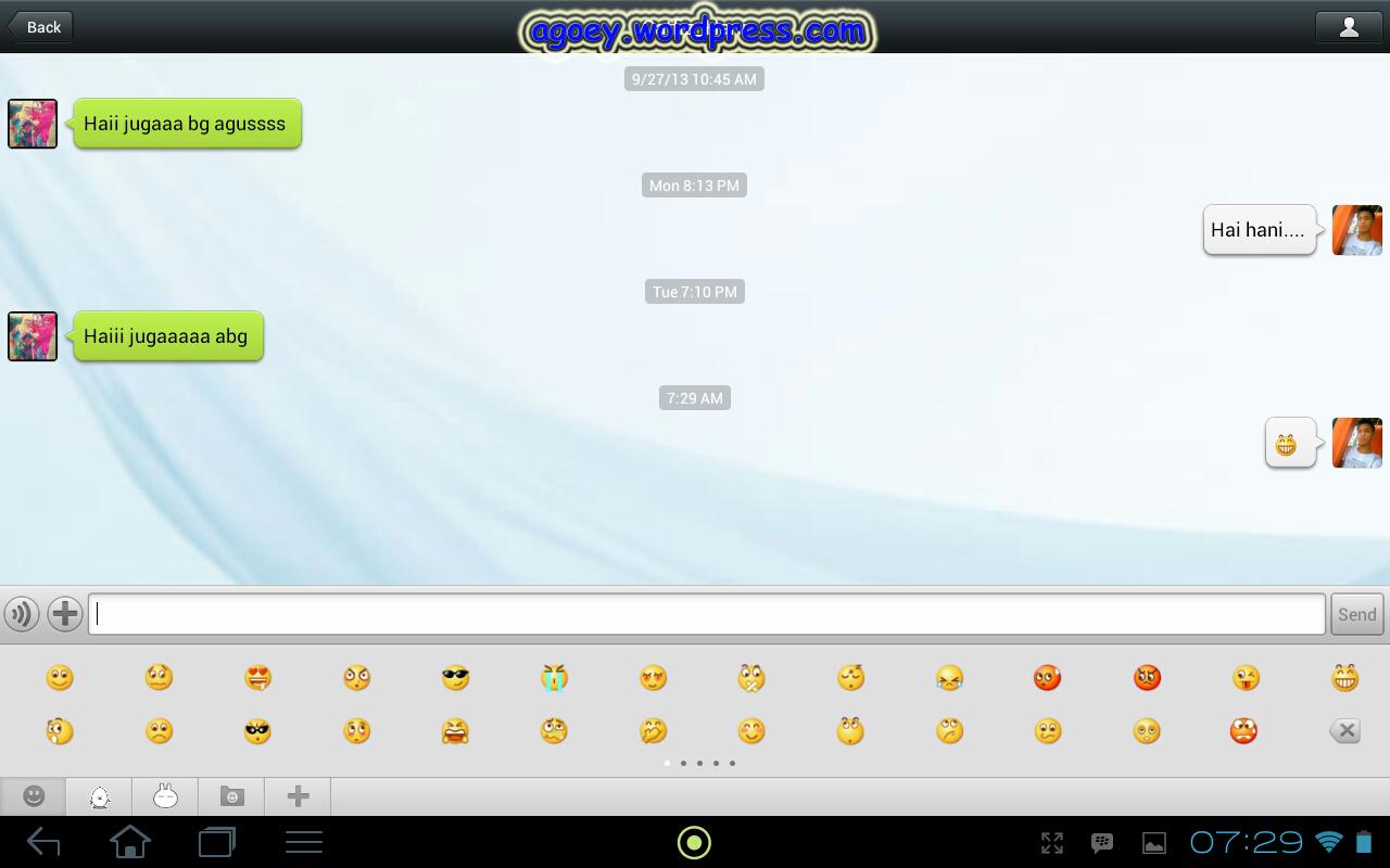 ... BBM FOR ANDROID BAGIAN TIGA : BBM vs Whatsapp Line Kakaotalk WeChat
