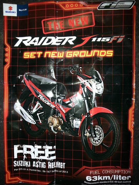 raider j115 brochure