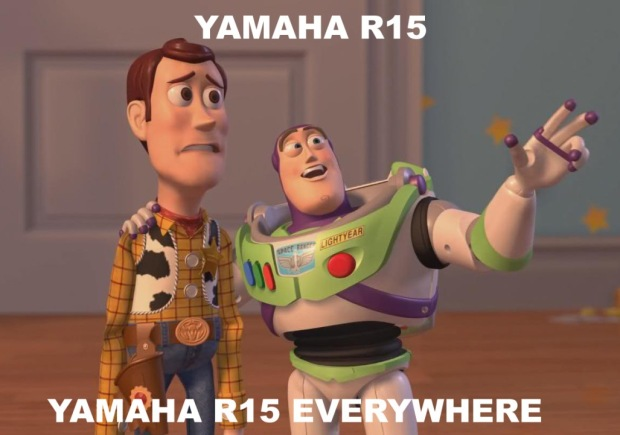 meme R15 everywhere copy