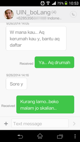MIUI 6 THEME MESSAGE THREAD UI