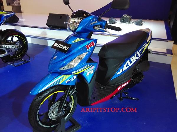 Suzuki Address livery motoGP