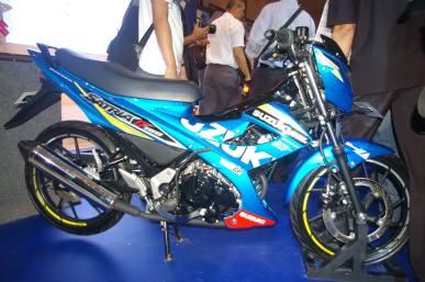 Suzuki Satria FU livery MotoGP