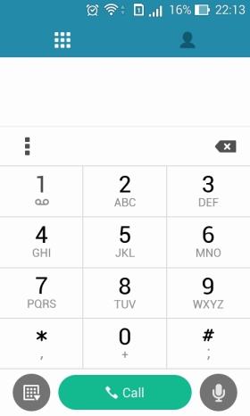 dial phone asus zenfone 4