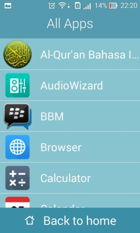easy mode app drawer asus zenfone 4
