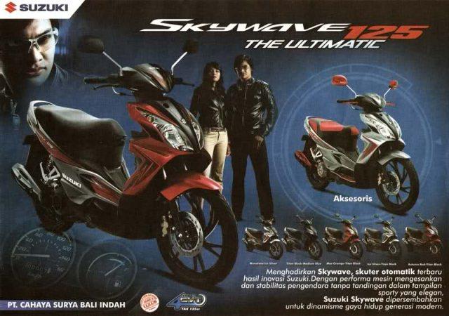 Suzuki Skywave 125