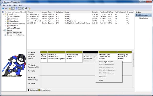 shrink disk success copy