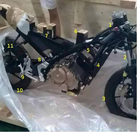 Suzuki MIni Sport Full Fairing 150cc