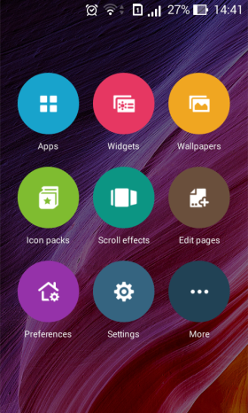 Zen UI Launcher Preferences