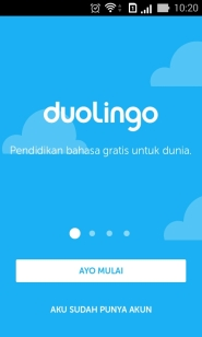 Duolingo Home