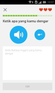 Duolingo Listening test