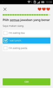Duolingo Match Test