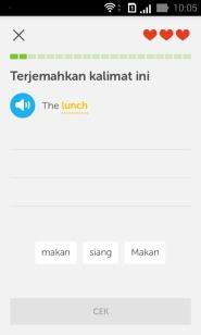 Duolingo translate tes