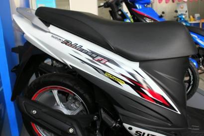 Suzuki Address R Putih4