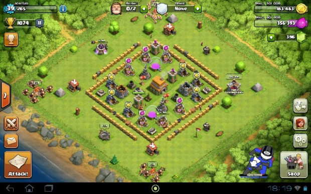 Strongest Base Village th6 Town Hall 6 Clash Of Clans COC (1)