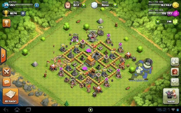 Strongest Base Village th6 Town Hall 6 Clash Of Clans COC (2)