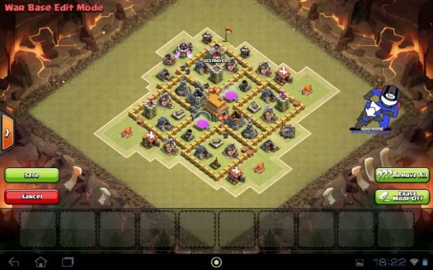 Strongest Base Village th6 Town Hall 6 Clash Of Clans COC (3)