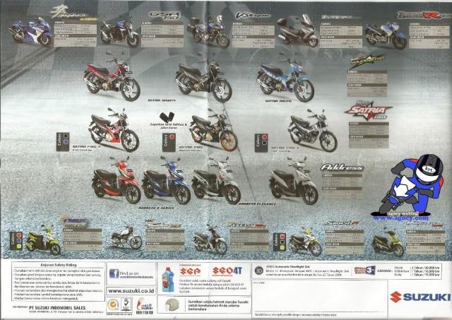 flyer motor Suzuki