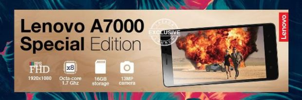 Lenovo A7000 Plus Special Edition