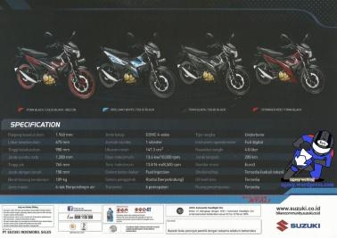 Brosur Suzuki Satria FU150 Injeksi 2016_06